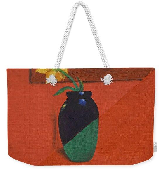 Chameleons Vase Weekender Tote Bag
