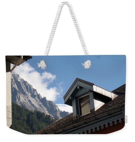 Chamonix Roofs Weekender Tote Bag