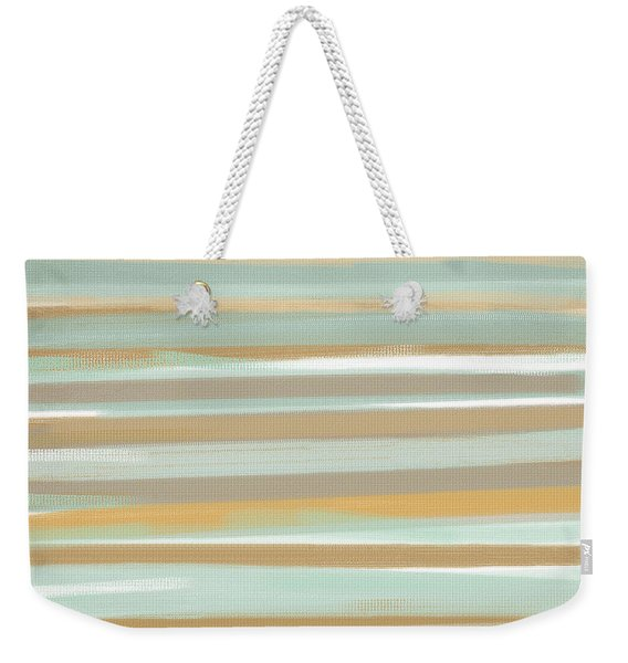 Champagne And Gold Weekender Tote Bag