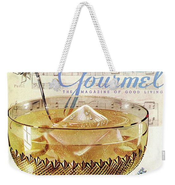 Champagne Punch And The Wedding March Weekender Tote Bag