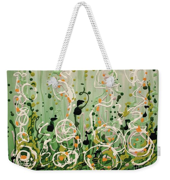 Champagne Symphony Weekender Tote Bag