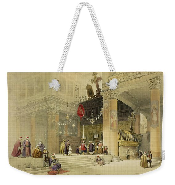 Chancel Of The Church Of St. Helena Weekender Tote Bag