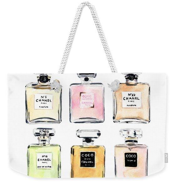Chanel Perfumes Weekender Tote Bag