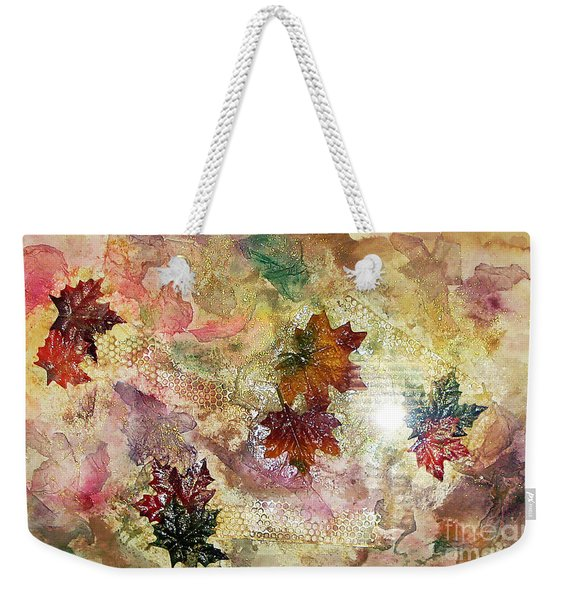 Change In You II Weekender Tote Bag