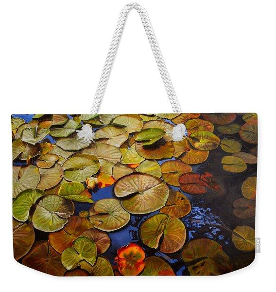Change Of Season Weekender Tote Bag