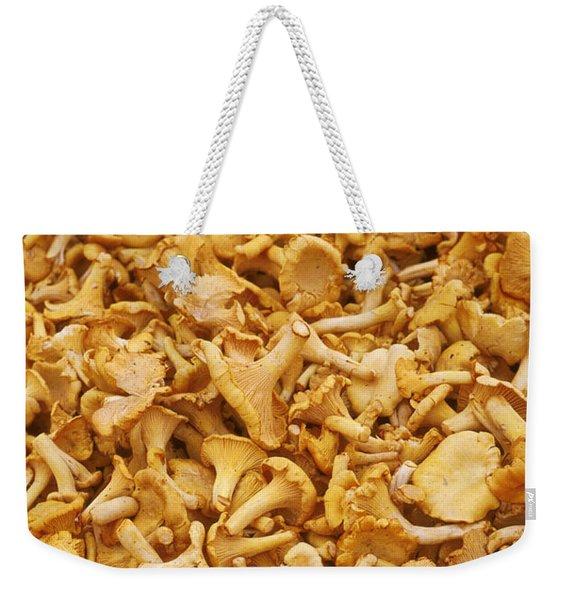 Chanterelle Mushroom Weekender Tote Bag