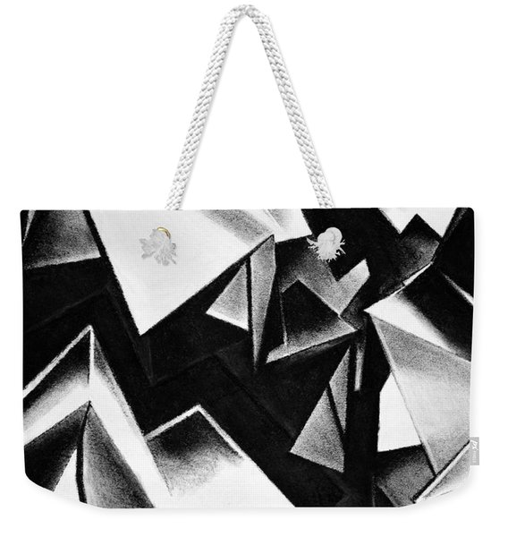 Chaotic Structure Weekender Tote Bag