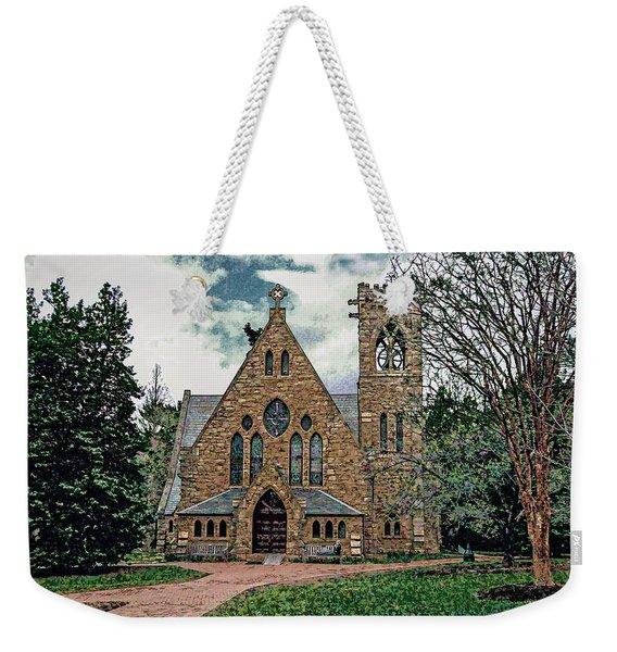 Chapel At University Of Virginia Weekender Tote Bag