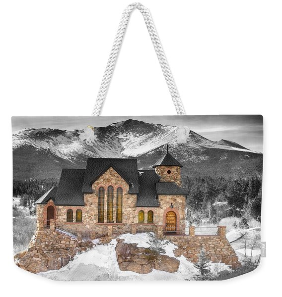 Chapel On The Rock Bwsc Weekender Tote Bag