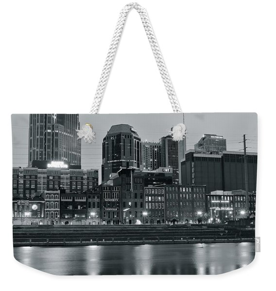 Charcoal Nashville Weekender Tote Bag