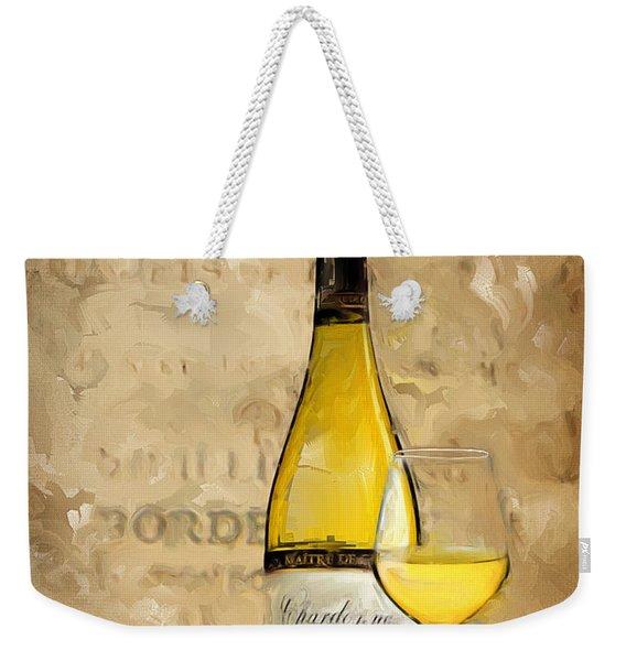 Chardonnay Iv Weekender Tote Bag