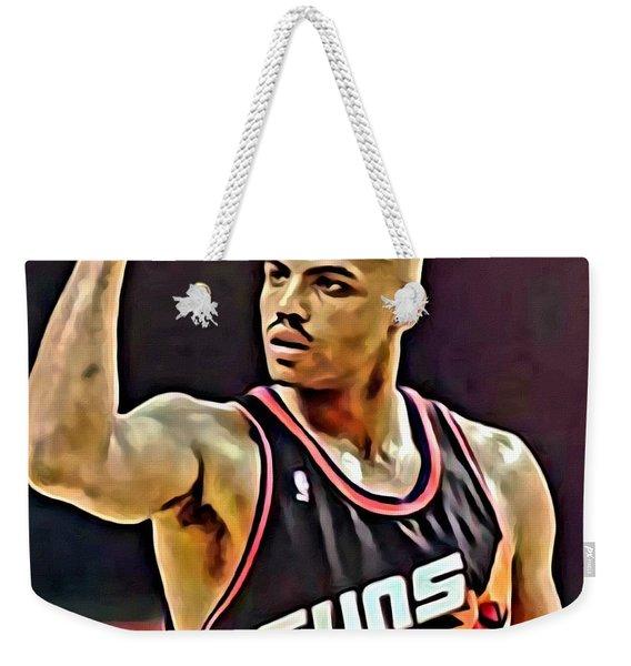 Charles Barkley Weekender Tote Bag