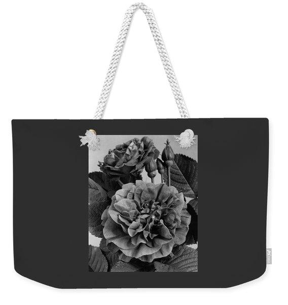 Charles Frederic Worth Rose Weekender Tote Bag