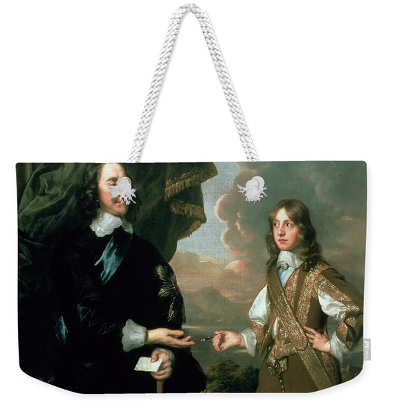 Charles I And James, Duke Of York Weekender Tote Bag