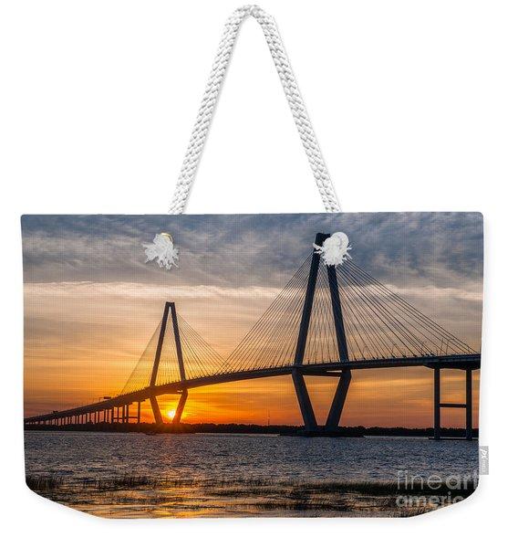 Charleston Sun Setting  Weekender Tote Bag
