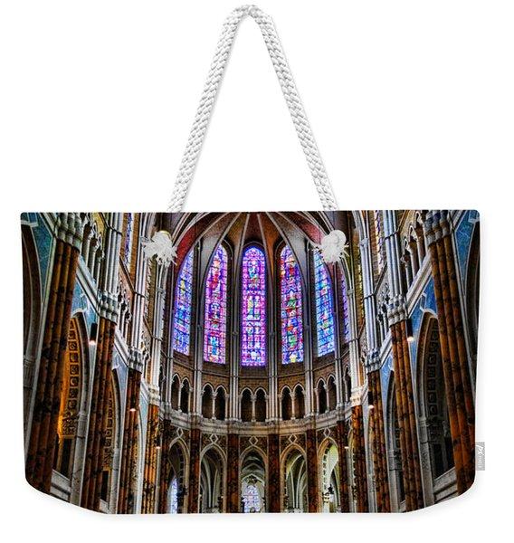 Chartres Weekender Tote Bag