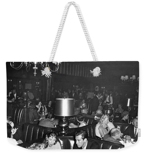 Chasen's Hollywood Restaurant Weekender Tote Bag
