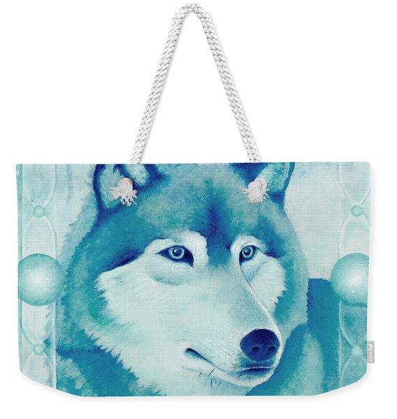 Chasing Wolf Weekender Tote Bag