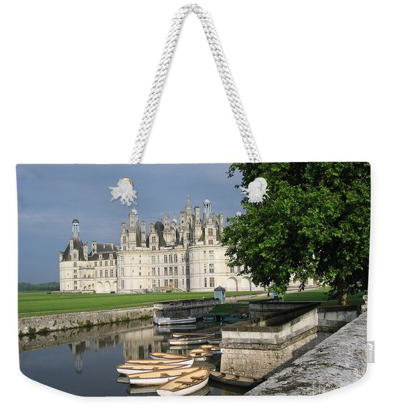 Chateau Chambord Boating Weekender Tote Bag