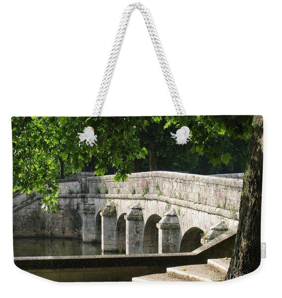 Chateau Chambord Bridge Weekender Tote Bag