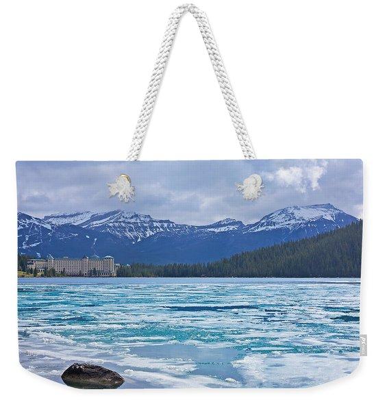 Chateau Lake Louise #2 Weekender Tote Bag