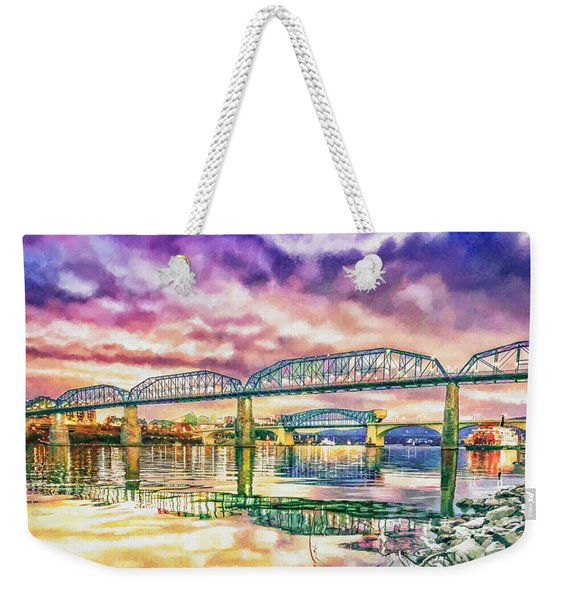 Chattanooga Reflection 1 Weekender Tote Bag