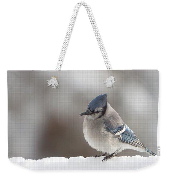 Checking For Missed Seeds Weekender Tote Bag
