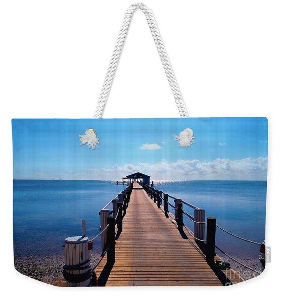 Cheeca Pier Weekender Tote Bag