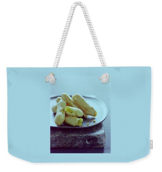 Cheese Puffs Weekender Tote Bag