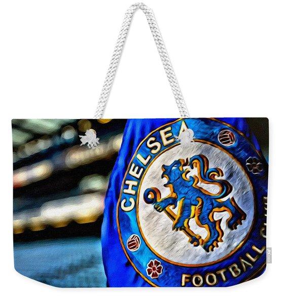 Chelsea Football Club Poster Weekender Tote Bag