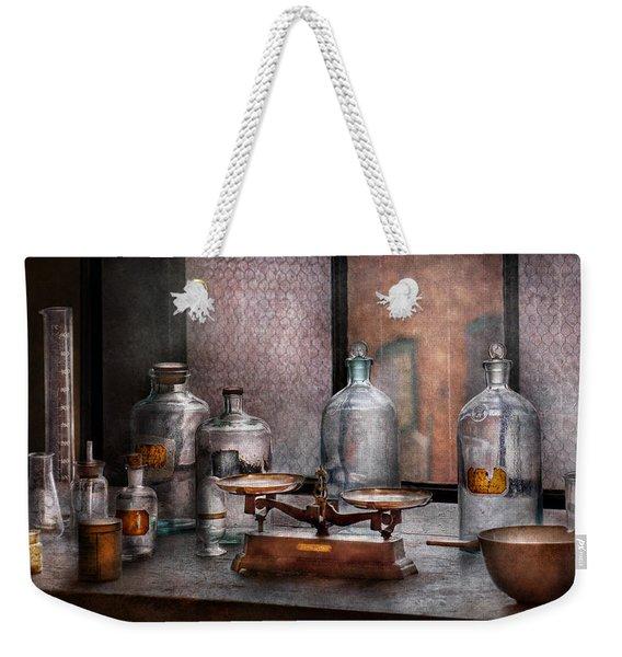 Chemist - The Art Of Measurement Weekender Tote Bag