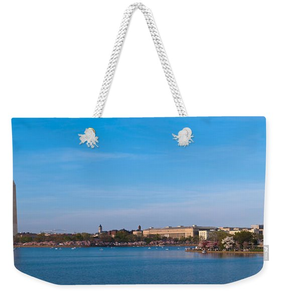 Cherry Blossoms At The Tidal Basin Weekender Tote Bag
