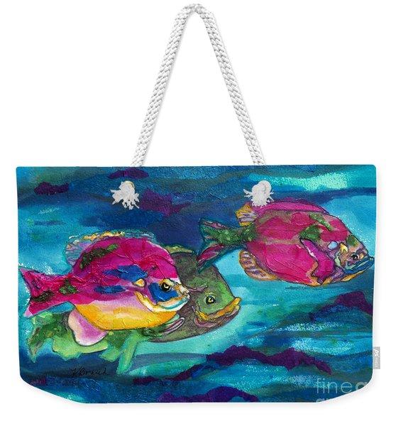 Cherry Toppers Weekender Tote Bag