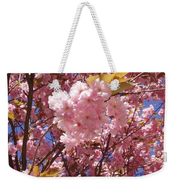 Cherry Trees Blossom Weekender Tote Bag
