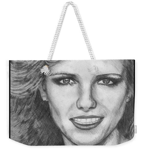 Cheryl Tiegs In 1980 Weekender Tote Bag