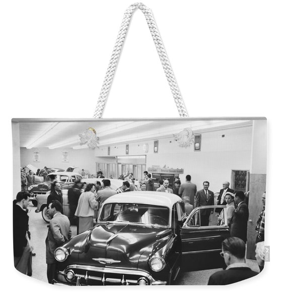 Chevrolet Dealer Weekender Tote Bag