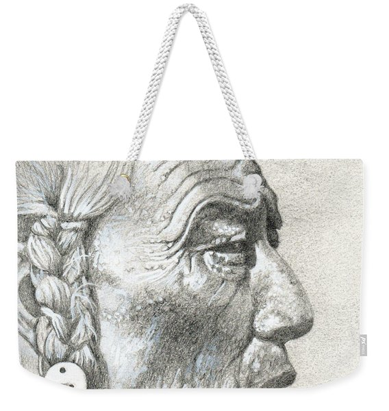 Bear Bull, Blackfoot Weekender Tote Bag