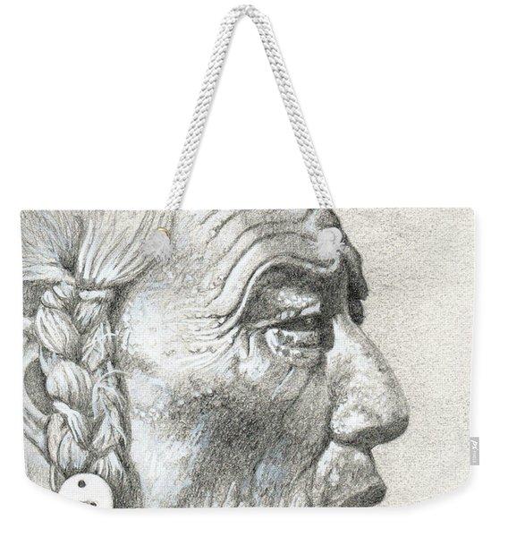Bear Bull, Blackfoot Weekender Tote Bag