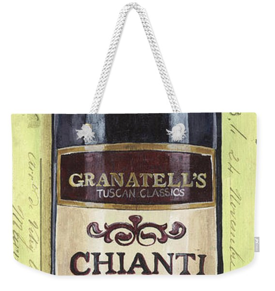 Chianti And Friends Panel 1 Weekender Tote Bag