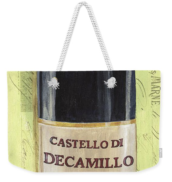 Chianti And Friends Panel 2 Weekender Tote Bag