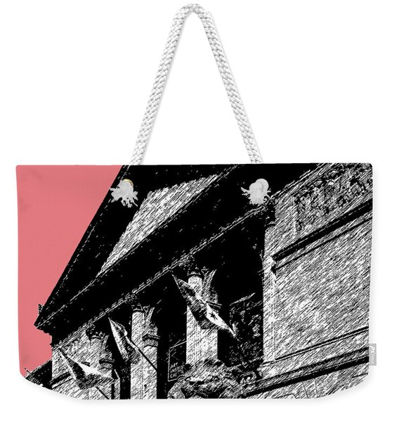 Chicago Art Institute Of Chicago - Light Red Weekender Tote Bag