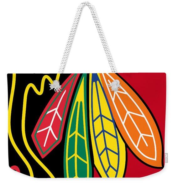 Chicago Blackhawks 2 Weekender Tote Bag