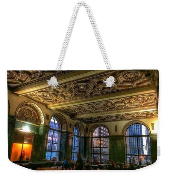 Chicago Cultural Center Hall Weekender Tote Bag