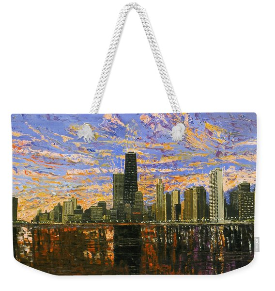 Chicago Weekender Tote Bag