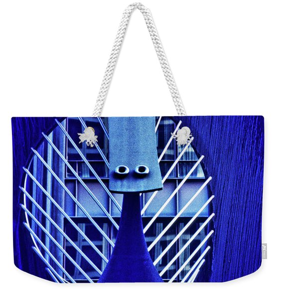 Chicago Picasso Sculpture, Chicago Weekender Tote Bag
