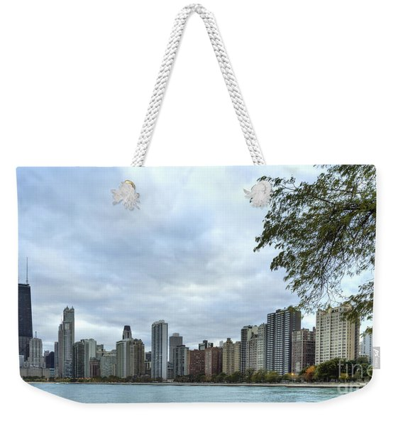 Chicago Skyline From North Avenue Beach I Weekender Tote Bag