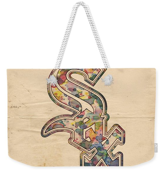 Chicago White Sox Poster Weekender Tote Bag