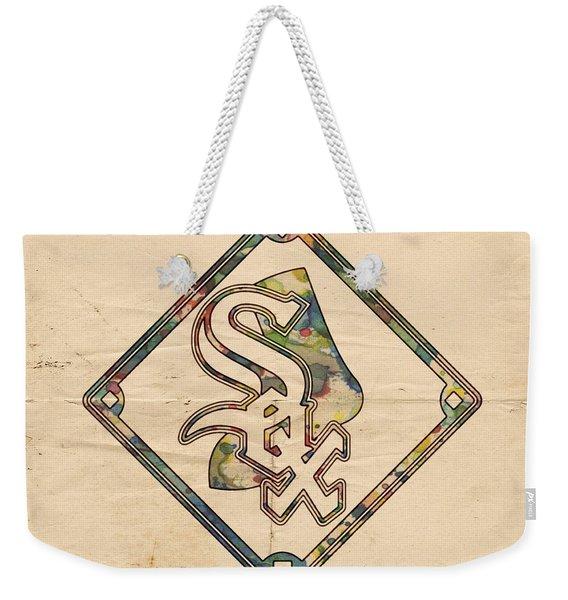 Chicago White Sox Vintage Logo Weekender Tote Bag