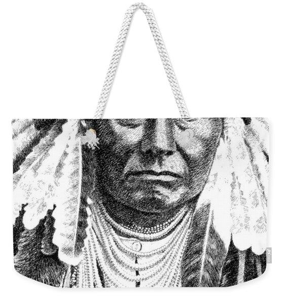 Chief-joseph Weekender Tote Bag