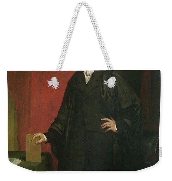 Chief Justice Marshall Weekender Tote Bag